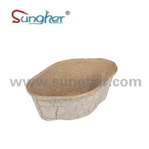 Paper Pulp Flower Pot
