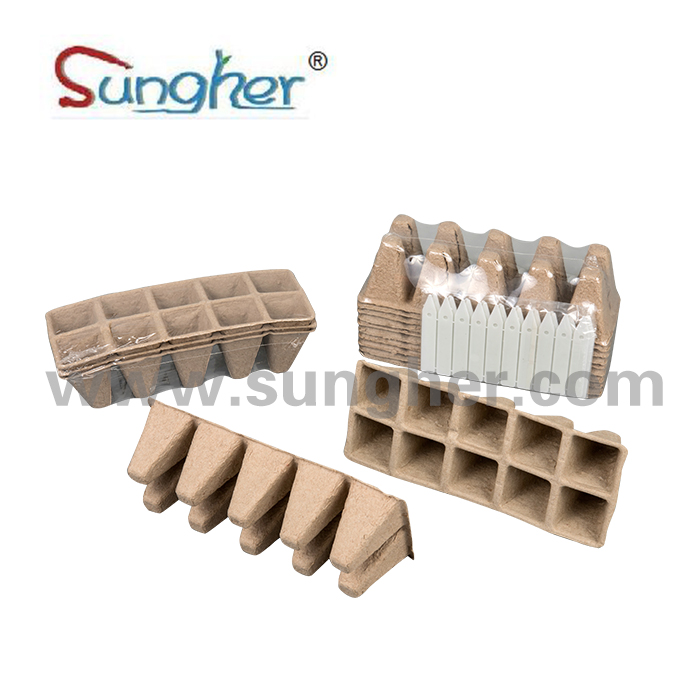 Paper Pulp Plant Tray – 2X5 Square Tray Featured Image