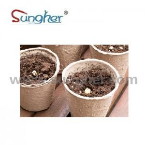 Paper Pulp Plant Pot – 6cm Round