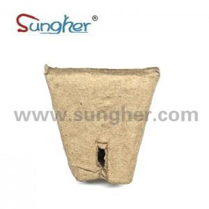Paper Pulp Plant Pot – 6cm Square